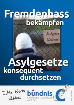 Plakate-Fluechtlinge