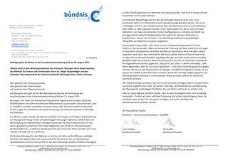 Buendnis C Offener Brief Suhl (Bild)