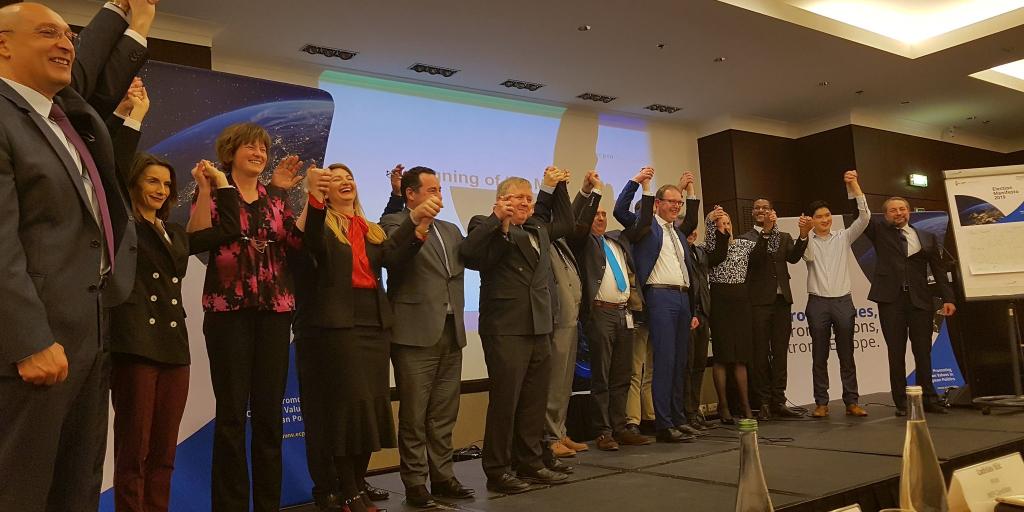 Eröffnung der Wahlkampagne der European Christian Political Movement (ECPM) in Brüssel