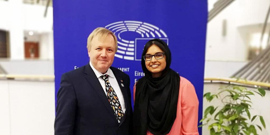 Für Menschenrechte im Europäischen Parlament