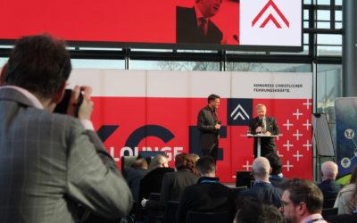 Bündnis C auf dem Kongress Christlicher Führungskräfte in Karlsruhe