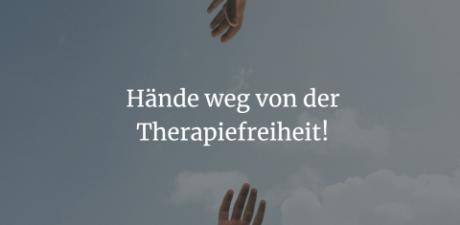 Update zur Petition: Hände weg von der Therapiefreiheit!