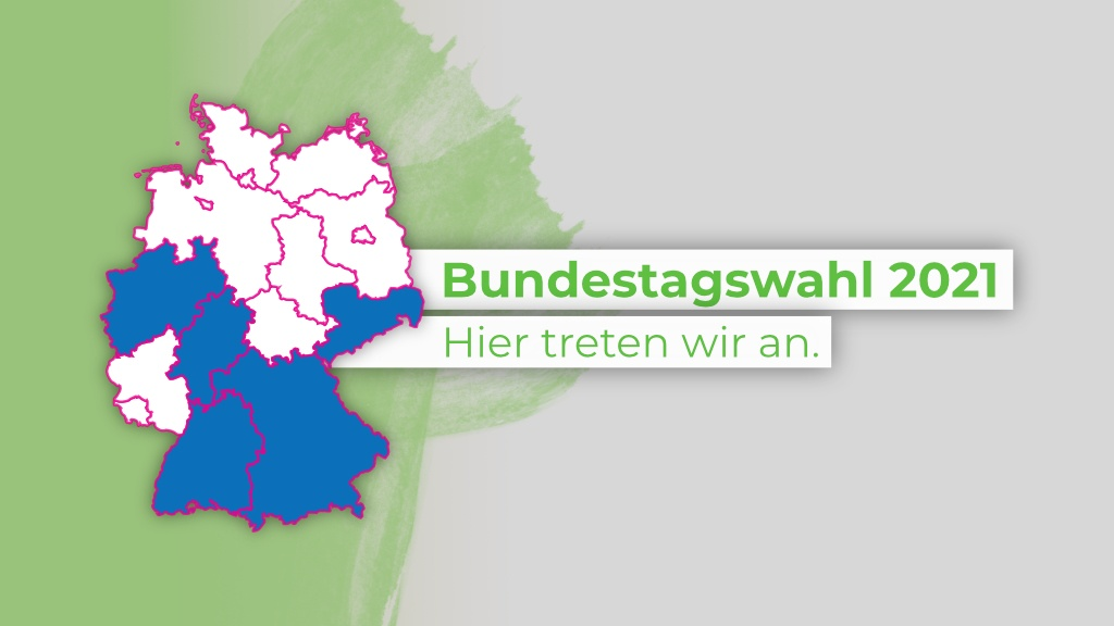 Unsere Landeslisten und Direktkandidaten zur Bundestagswahl